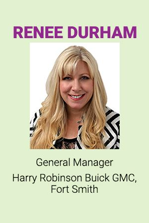 Harry Robinson Fort Smith Ar >> Renee Durham General Manager Harry Robinson Buick Gmc Fort