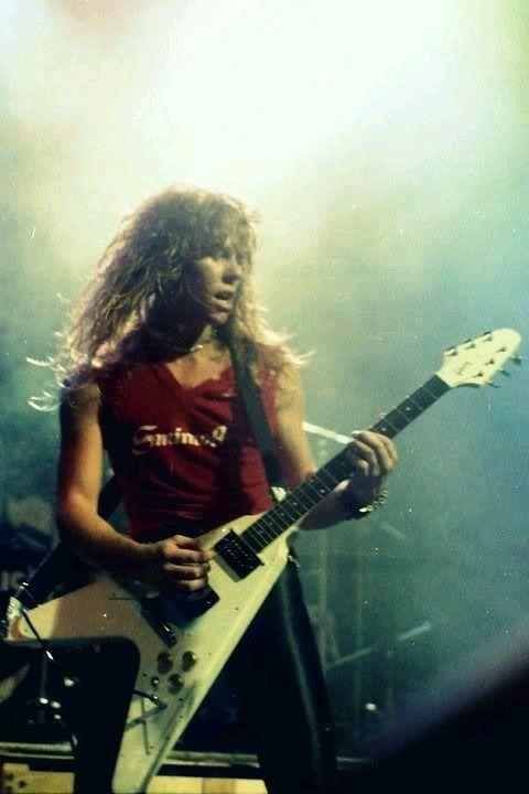Hetfield James Hetfield James Hetfield Young Metallica