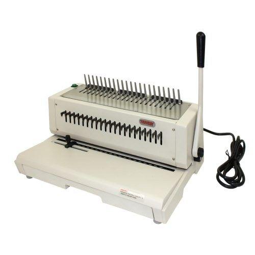 Tamerica 210epb Electric Plastic Comb Binding Machine Image 1 Binding Machines Garden Tools Plastic