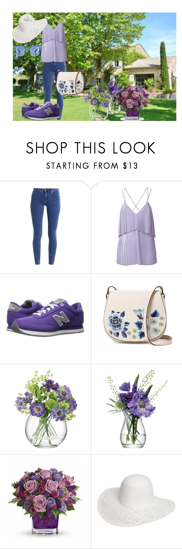 """""""One day in the country"""" by ciukinaa ❤ liked on Polyvore featuring even&odd, Elie Saab, New Balance Classics, French Connection, LSA International, Dorothy Perkins, Prada and country"""
