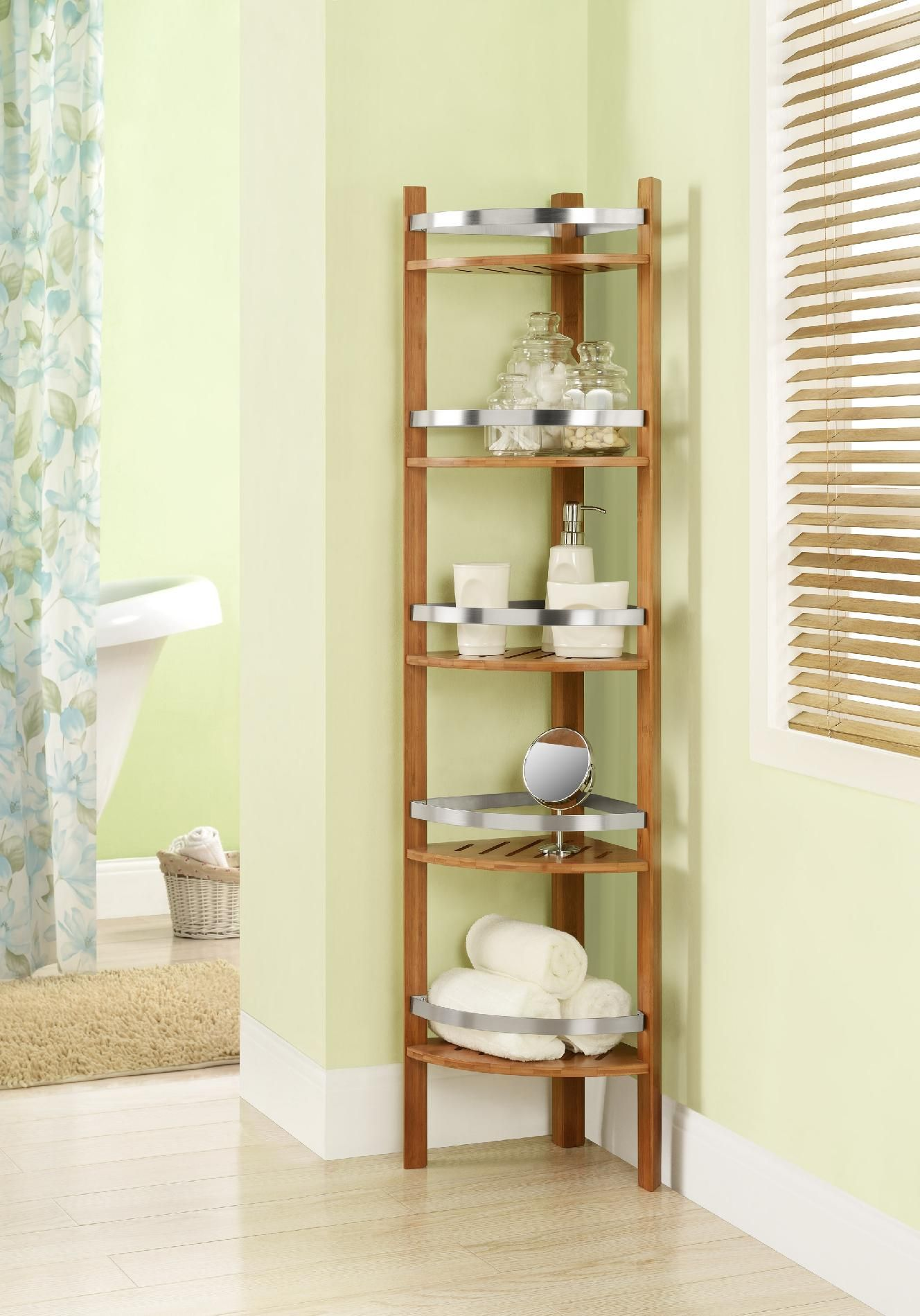 Kmart corner shelves | storage | Pinterest | Corner shelf and Spin