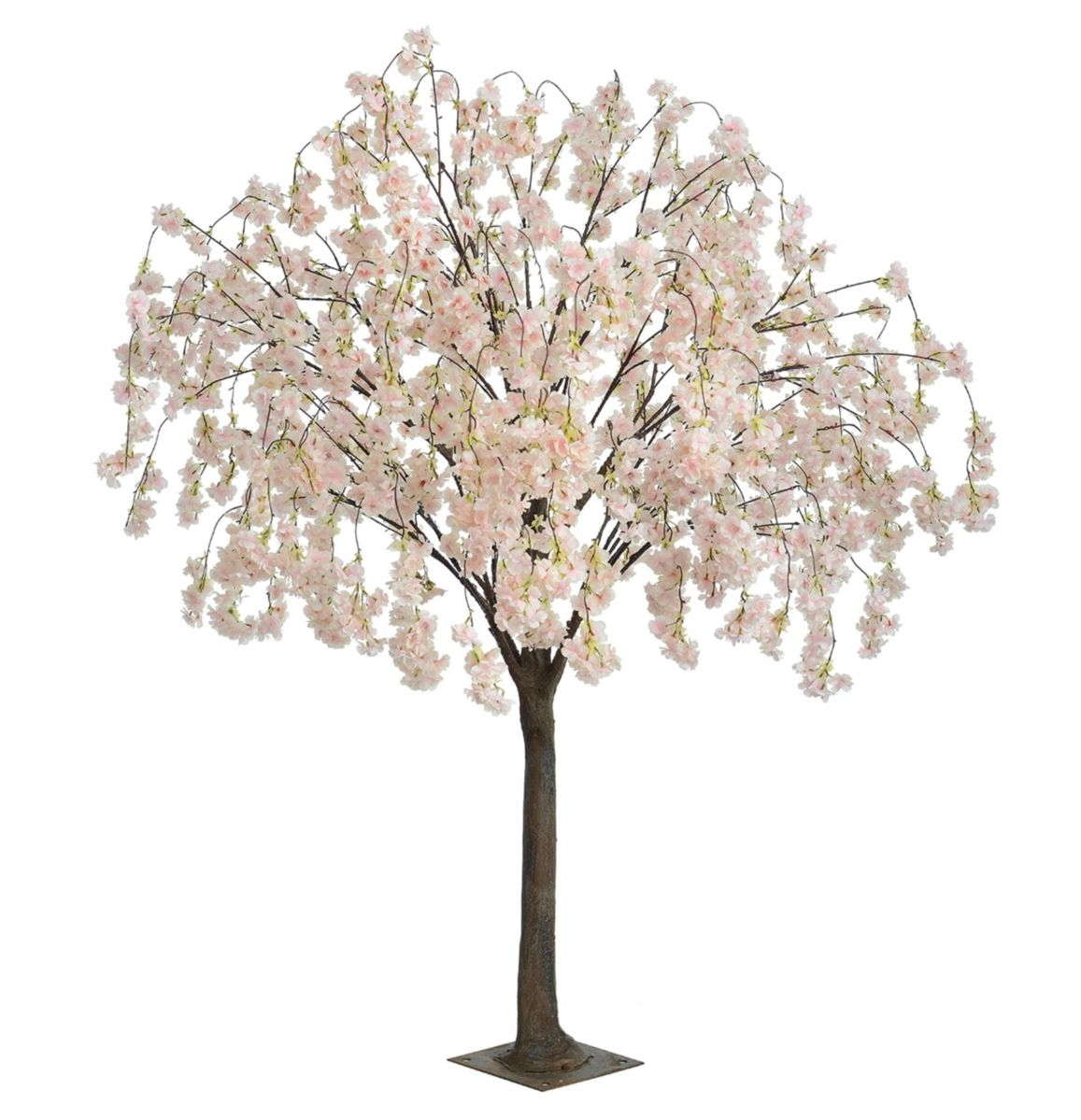 Artificial Blossom Tree With Pink Cream White Trailing Or Hanging Flowers Artificial Cherry Blossom Tree Blossom Trees Hanging Flowers