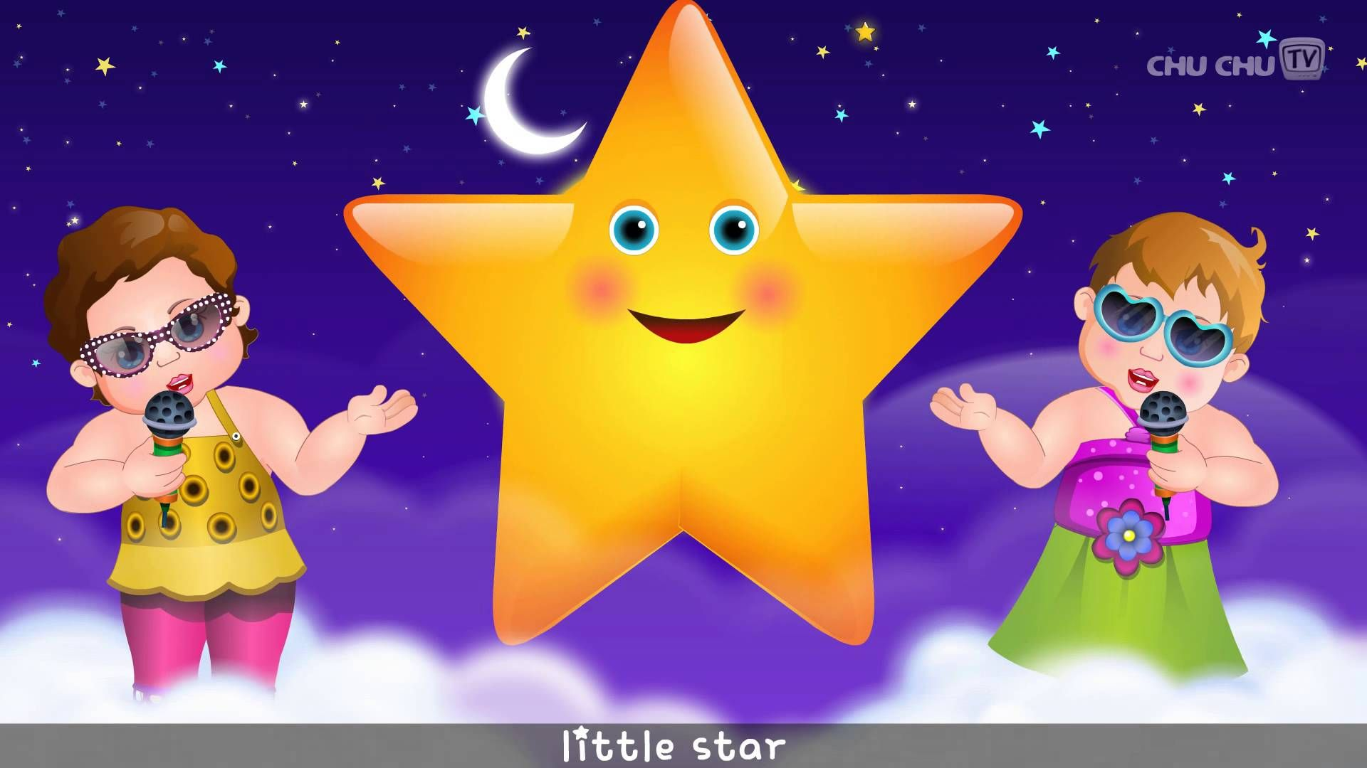 Baby Children Nursery Rhyme Song Twinkle Twinkle Little Star Rhyme With Lyrics English