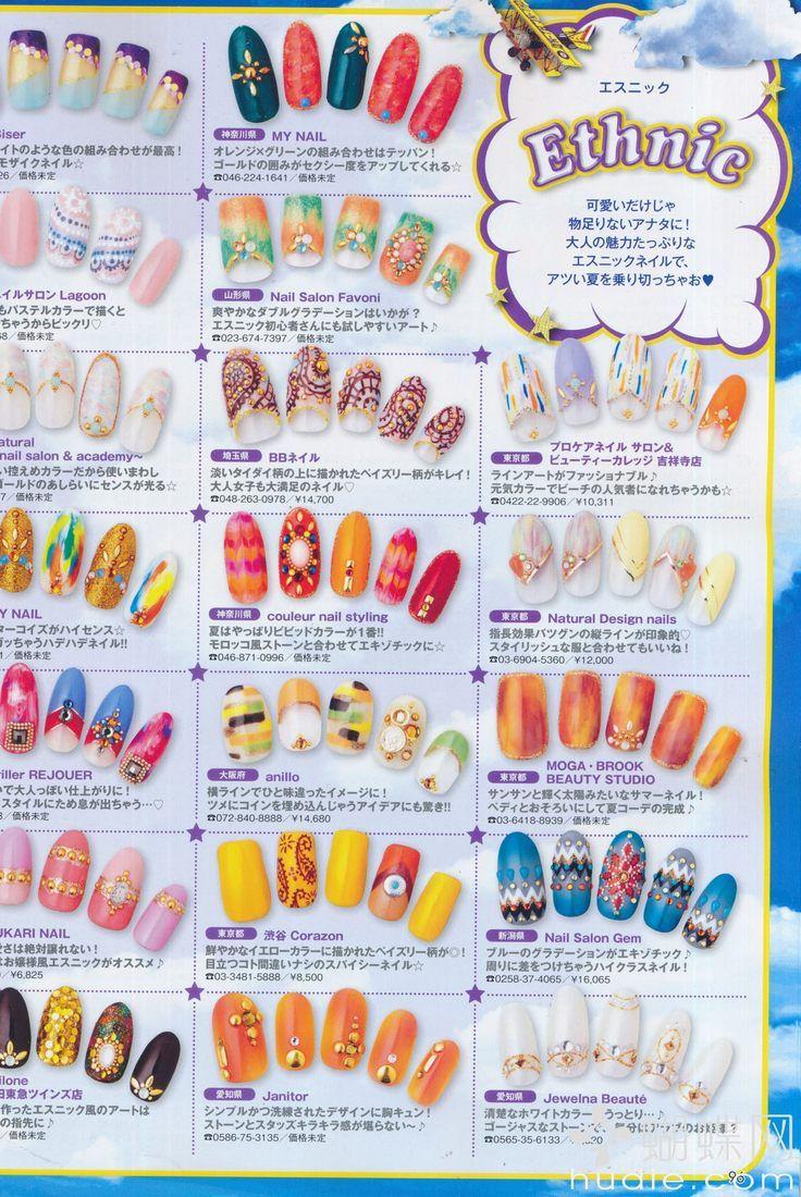 Pin by A. Moy on Nail Art Magazine   Pinterest   Japanese nail art ...