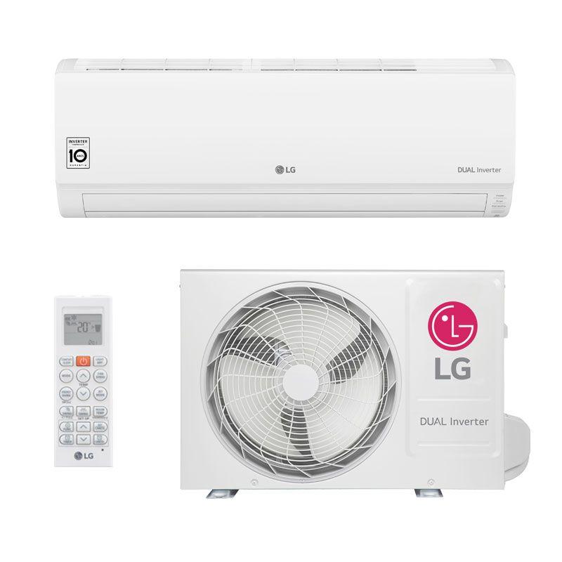 Ar Condicionado Split Hw Lg Dual Inverter 9000 Btus Quente Frio