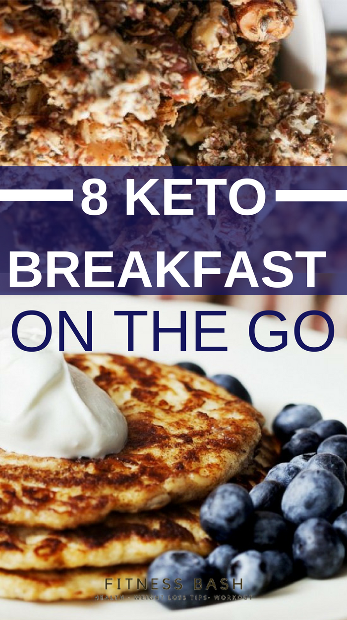 8 Keto Breakfast On the Go for a quick Keto Breakfast images
