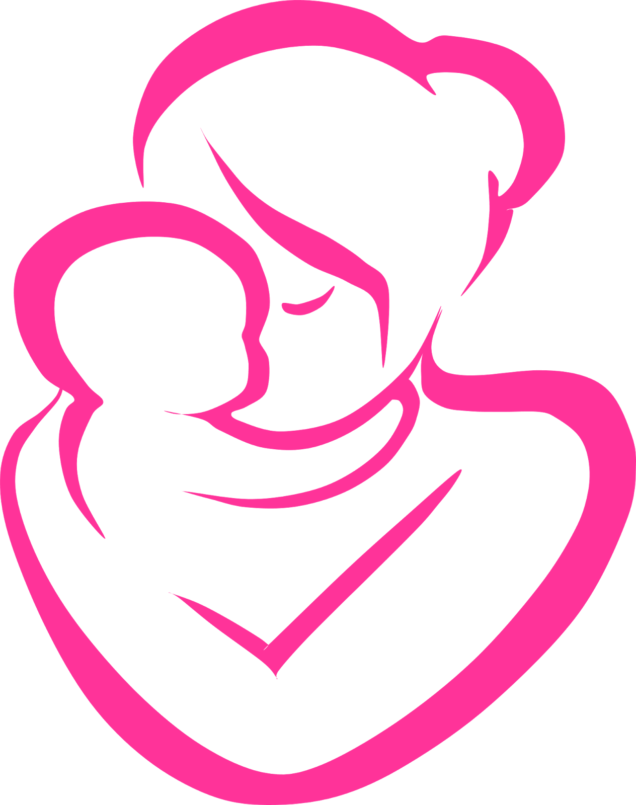 Mother And Baby Clipart Grandma Holding Baby 11 1264 X 1600 Mother Clipart Mother And Child Working Mother
