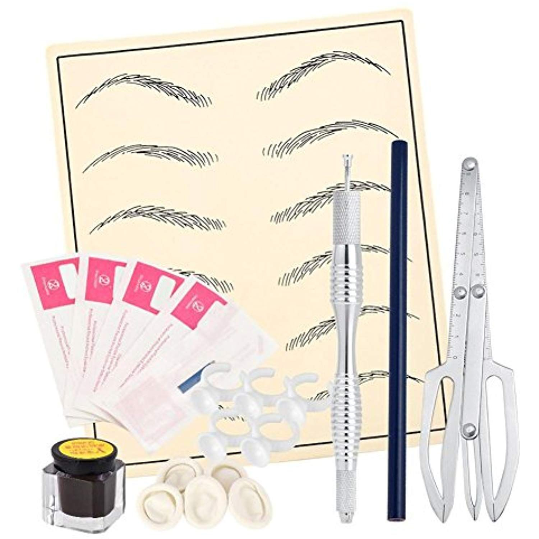 Jocestyle 20pcs microblading eyebrow tattoo needles pen