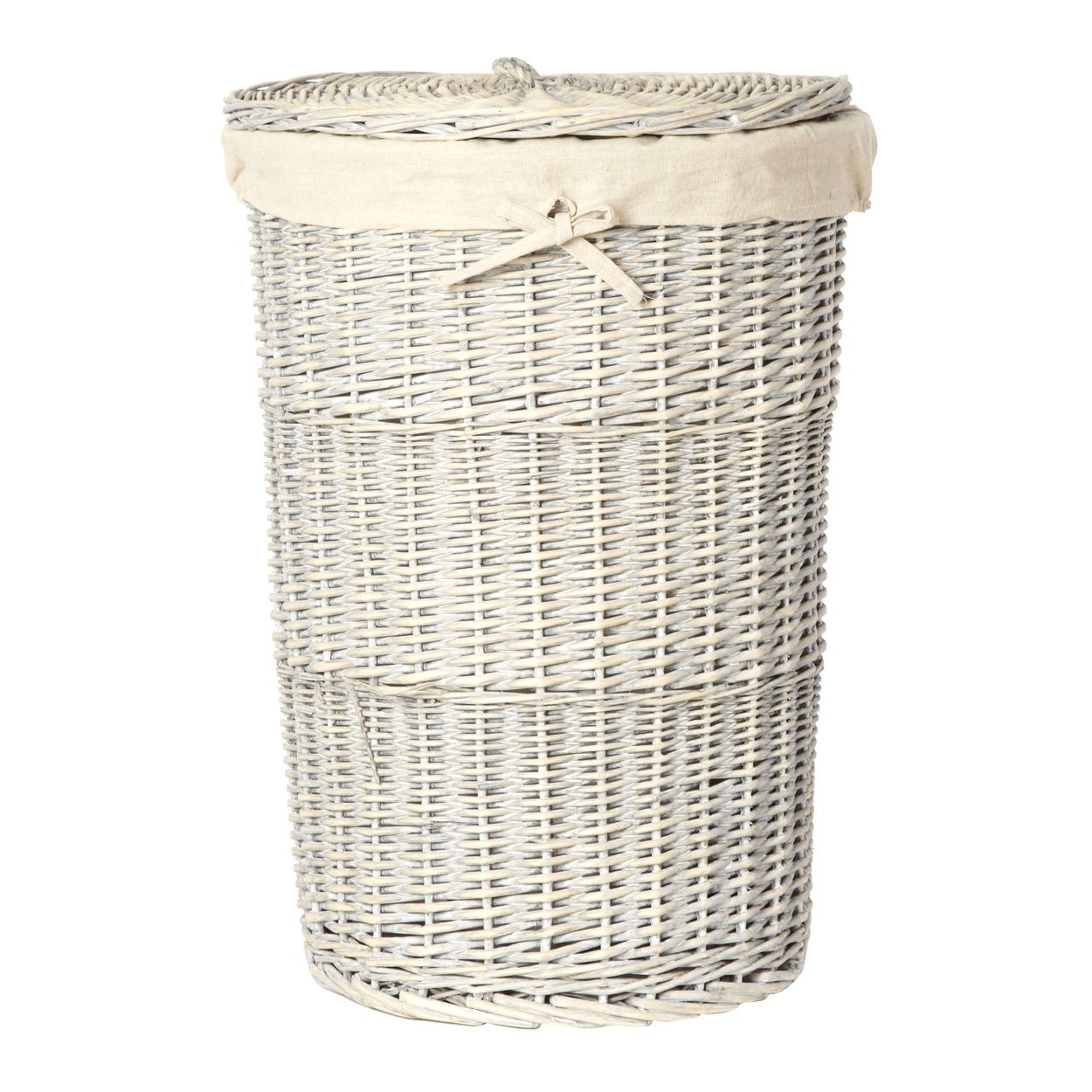 Grey Wicker Laundry Basket At Debenhams Com Wicker Laundry