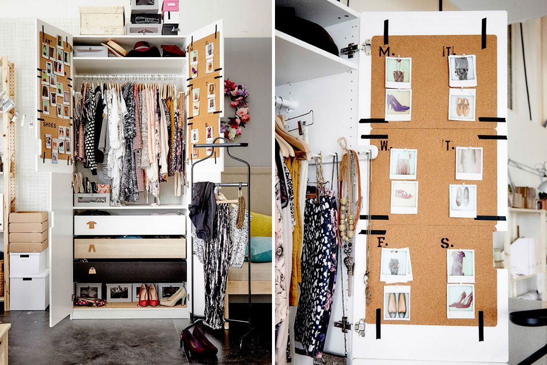 Here's How to Organize Your Way to a More Creative You via Brit + Co
