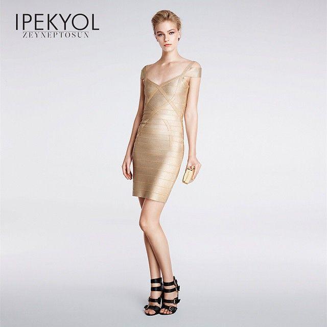 Altın renginin güçlü cazibesi... #ipekyol #ipekyoldanyazışıltısı #zeyneptosunipekyol #zeyneptosun