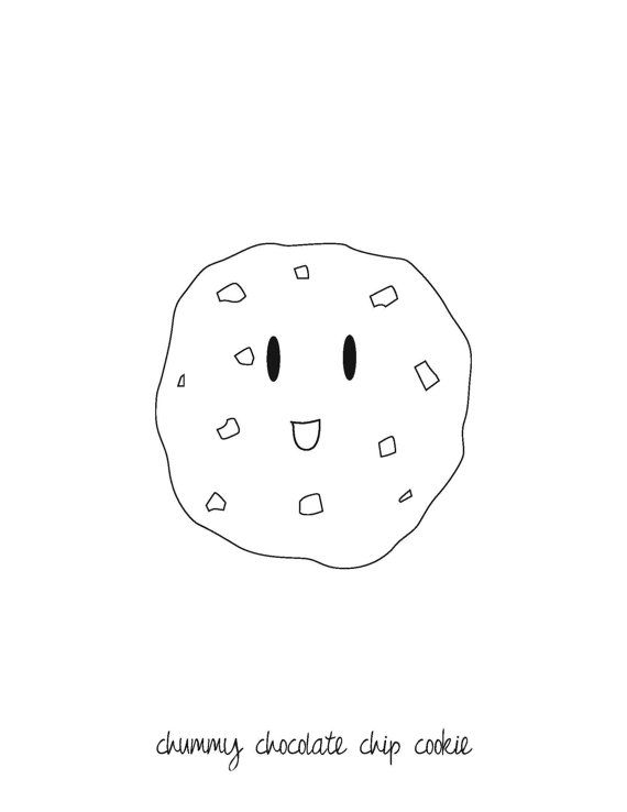 Fun Activities Food Coloring Pages For Kids Page 2 Abcteach Chocolate Chip Cookies Chcolate Chip Cookies Chip Cookies