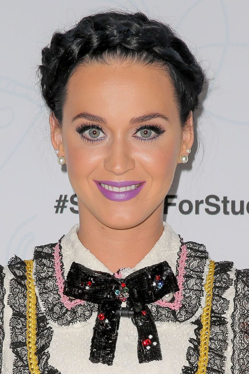 katy perry hairstyles inspiration to copy this year crown