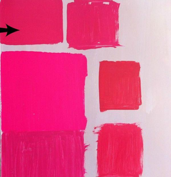 Bright Pink Paint Samples Kitchen Towels: Wie Können Sie Ihre Wände Kreativ