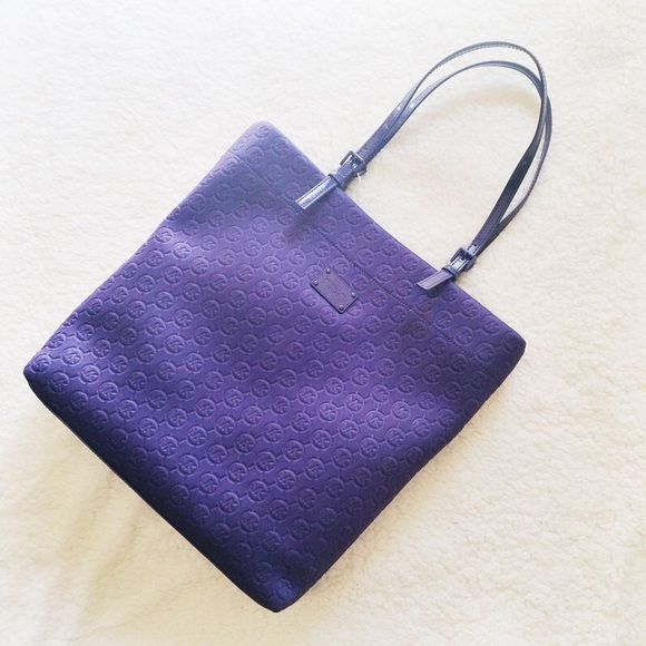 c06f7fa8baae coupon michael kors plum tote bag d9a07 f4b36  low price michael kors  purple neoprene tote bag this tote bag is authentic and brand new