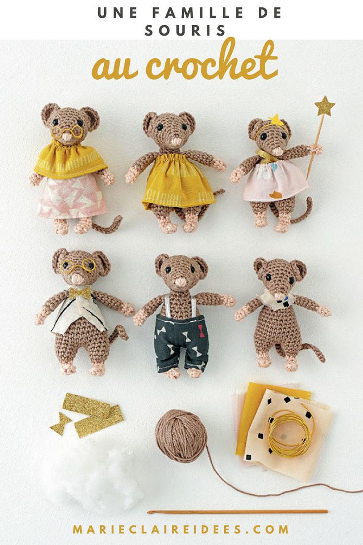 Crocheter des doudous souris | Pinterest | Regalos de ganchillo ...