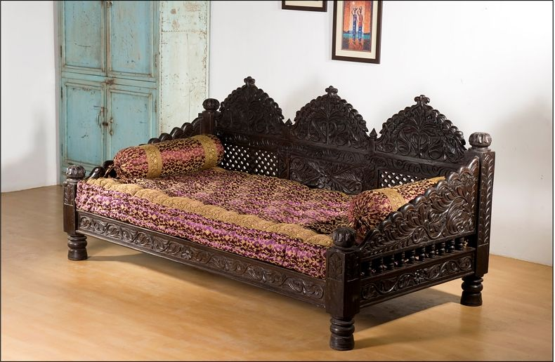 Monsooncraft Com Indian Carved Sofa Settee Designs Carved Sofa Sofa Set Designs Furniture