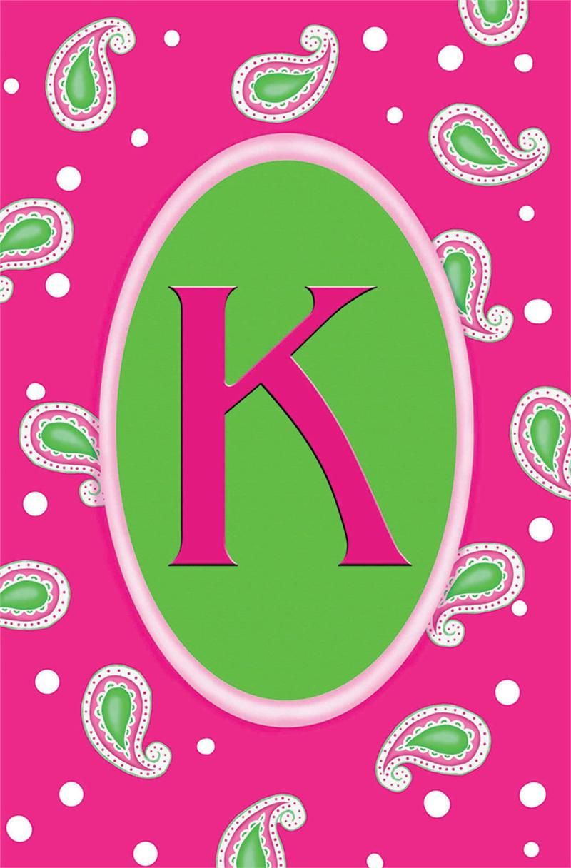 Black And Pink K Monogram Wallpaper Alphabet Wallpaper Badass Wallpaper Iphone