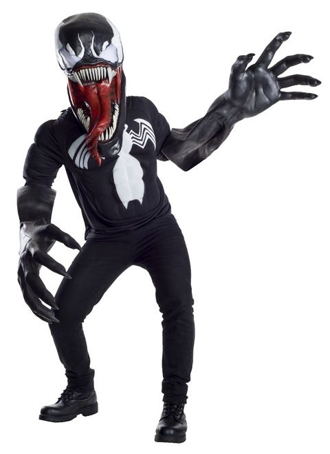 Venom Creature Reacher Super Deluxe Marvel Costume - Step into the shoes of  one of Marvel s most terrifying villains with this amazing Super Deluxe  Venom ... 2a17996e70669