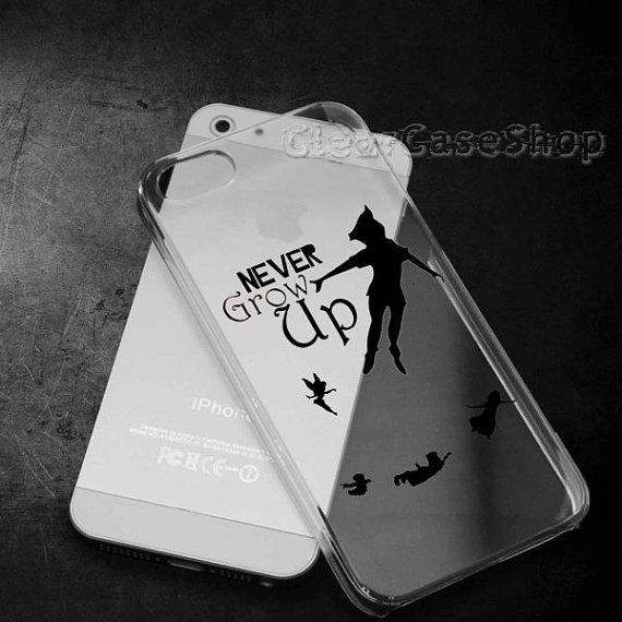 Peter Pan Never Grow Up for iphone 4 case iphone by CLEARCASESHOP ...