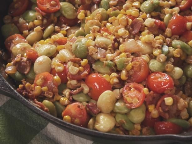 Super Simple Succotash #farmhouserulesrecipes