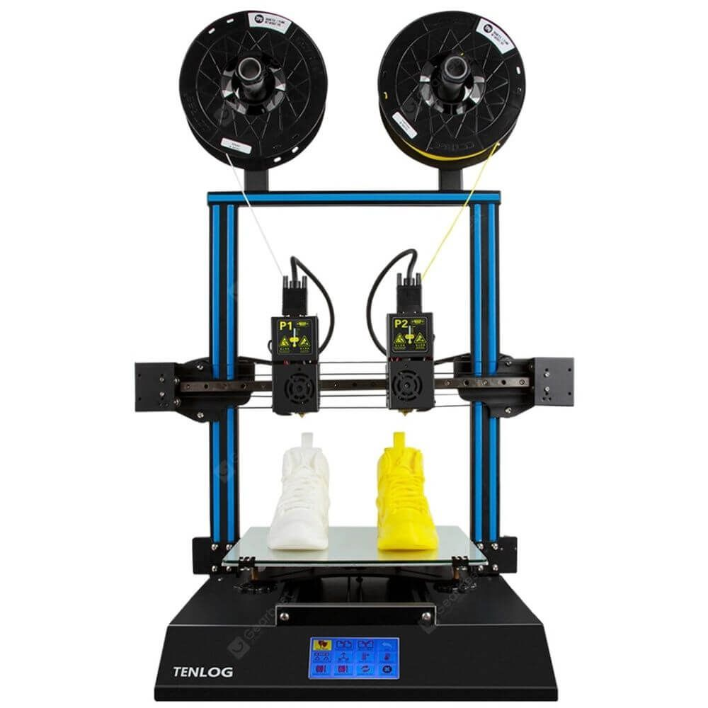 TENLOG TLD3 Pro 3DDrucker mit 2 unabhängigen Extrudern