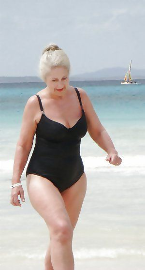 Grandmother On Holiday Granny Swimsuit Swimsuits