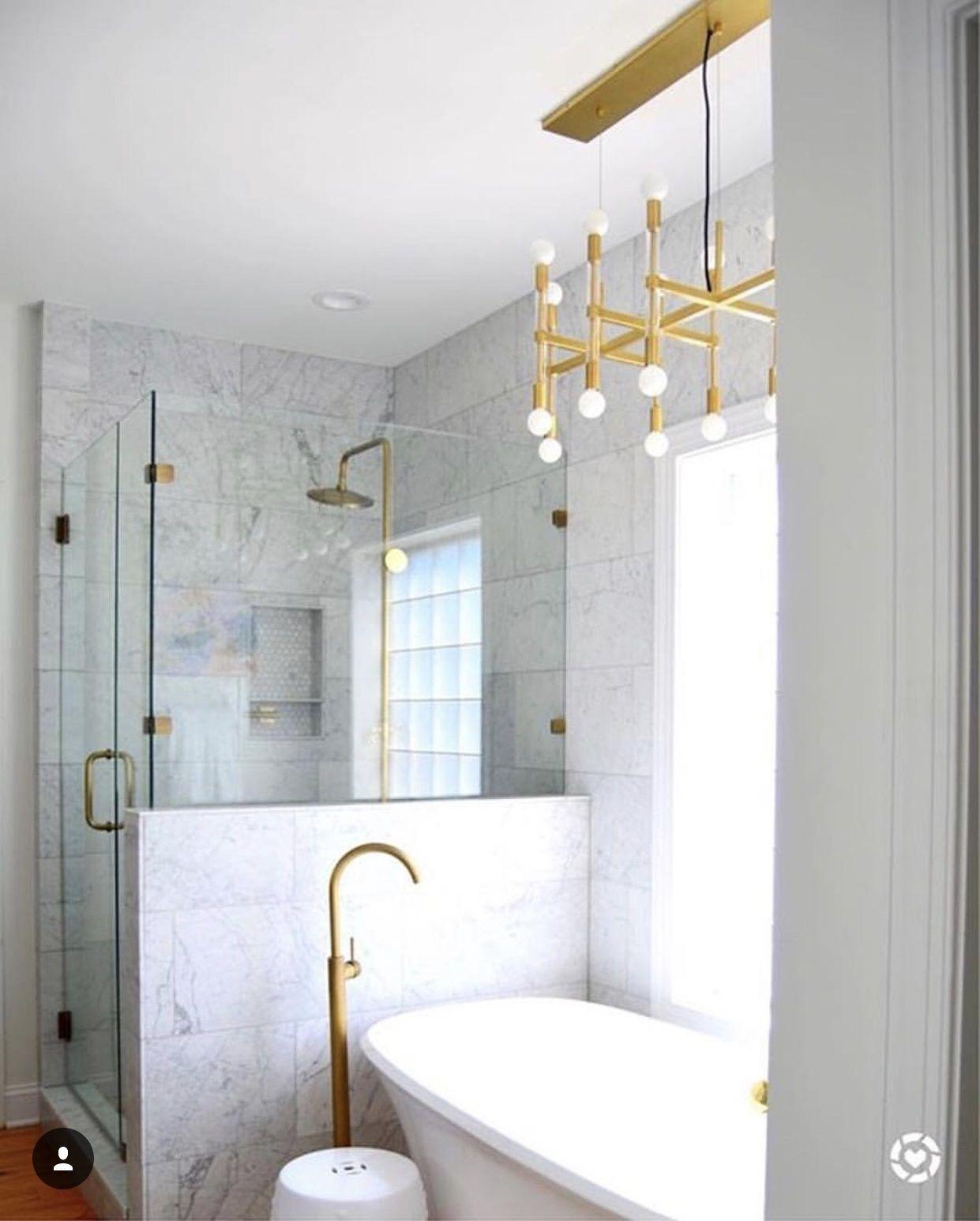 Bathroom interior hd marble bathroom with brass accessories ig liketoknowhome