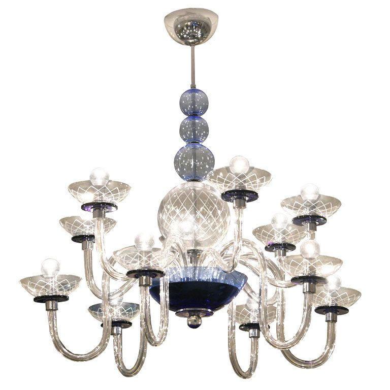 Beautiful 12 Arm Murano Chandelier Chandelier Chandeliers And Pendants Vintage Chandelier