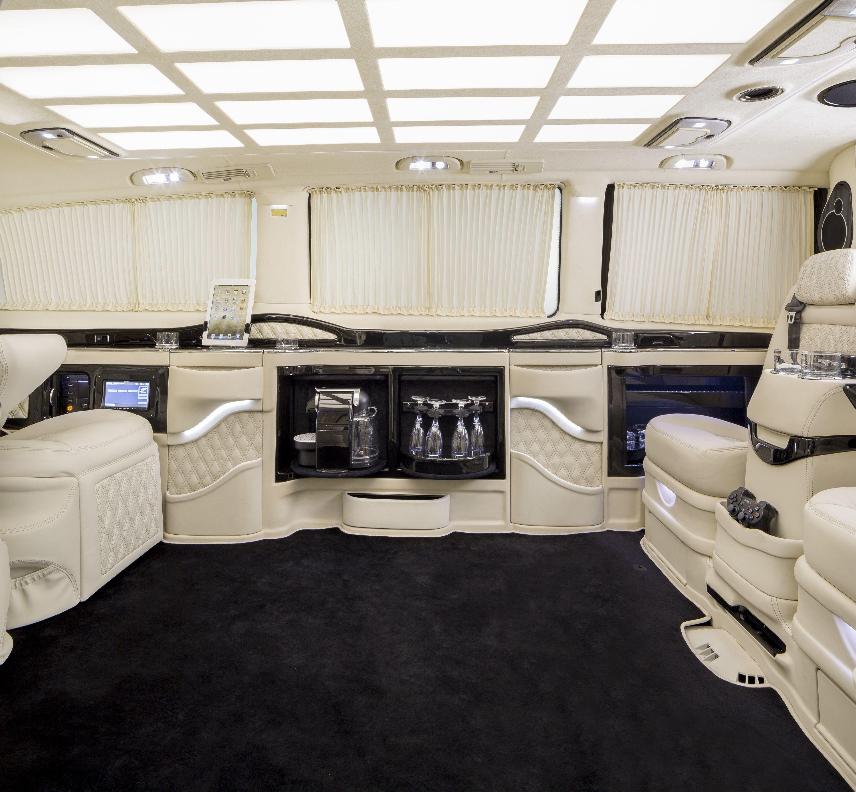Luxury caravan with full size sports car garage from futuria - Klassen Excellence Viano Mvd 1266 Limousine F Limousine Pinterest Cars