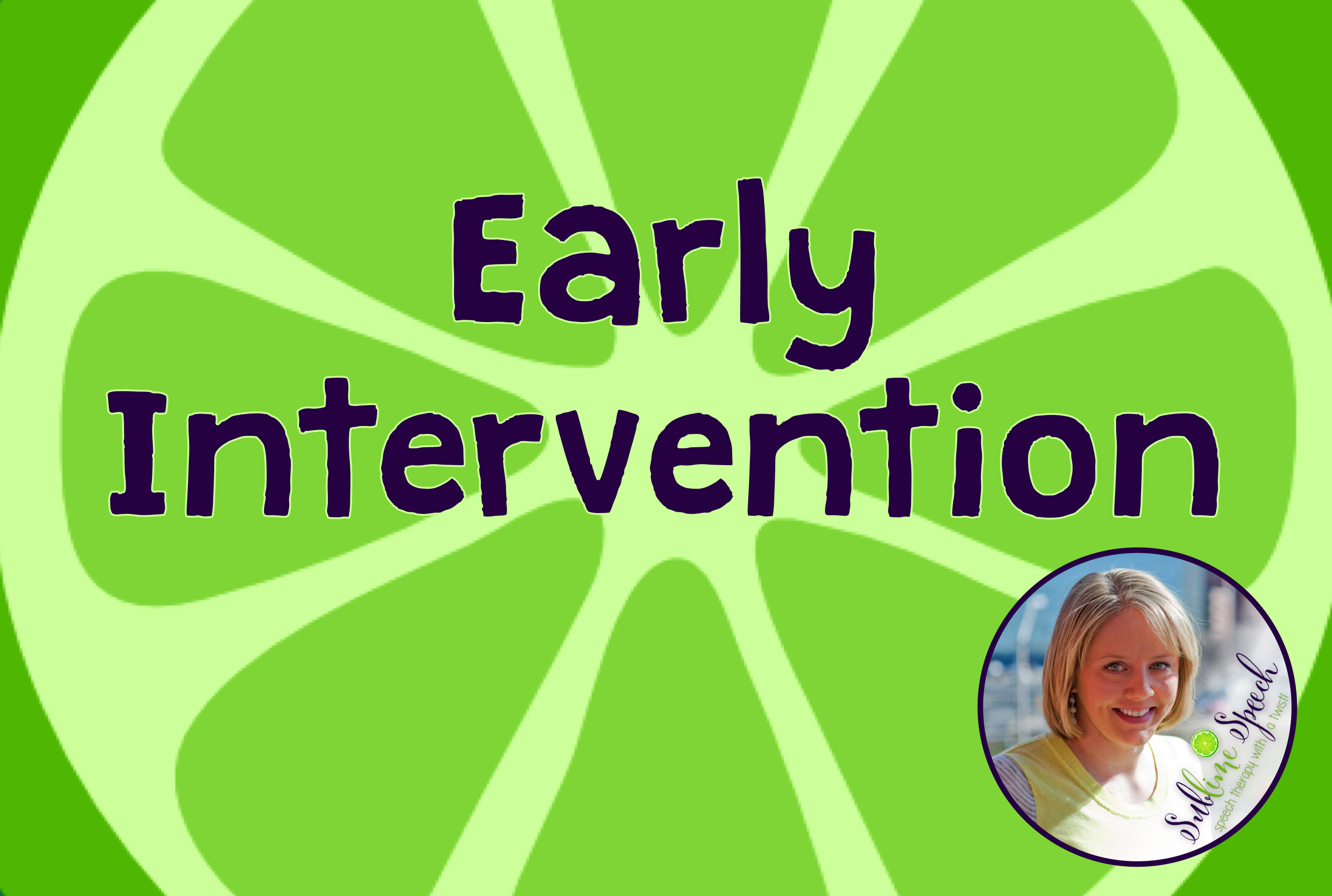 Early Intervention Materials Ideas And Information For
