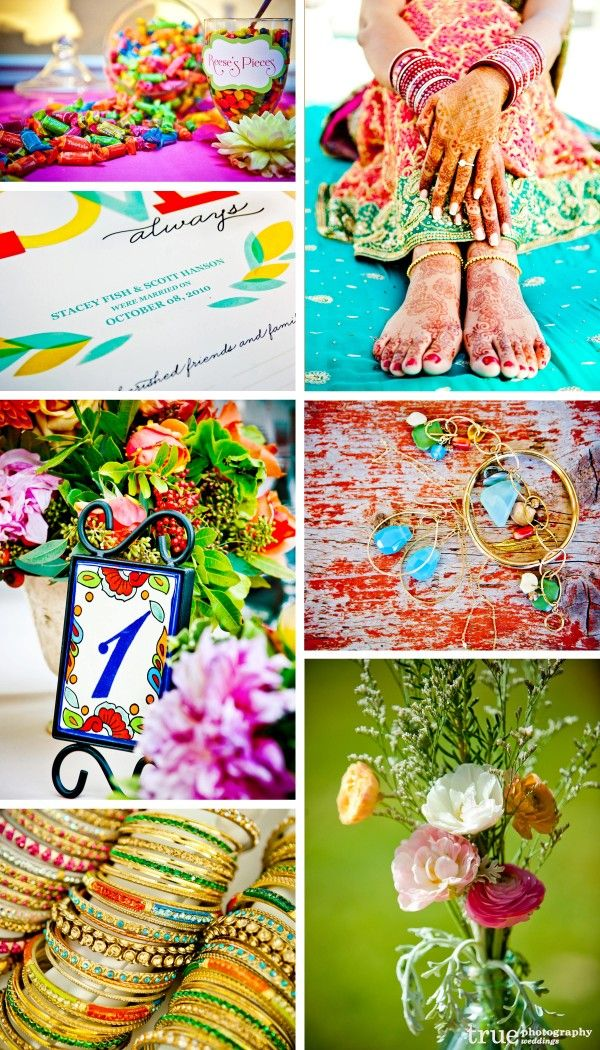 San Diego Wedding Photography Rainbow Colored Wedding Theme