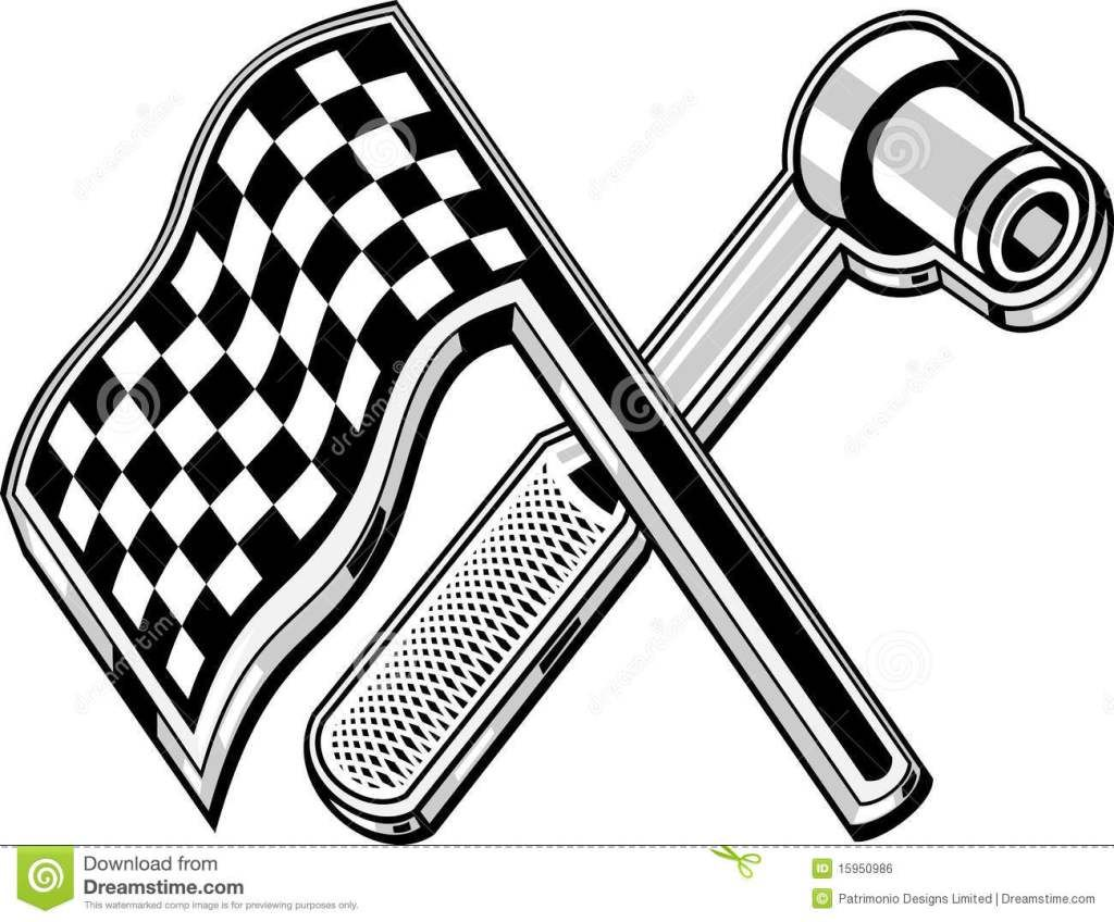 Checkered Flag Png Clipart - Checkered Flag - Free Transparent PNG Download  - PNGkey