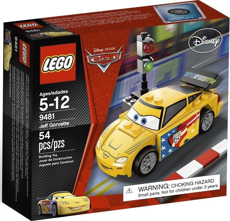 LEGO Cars (9481) Jeff Gorvette NEW Factory Sealed Retired