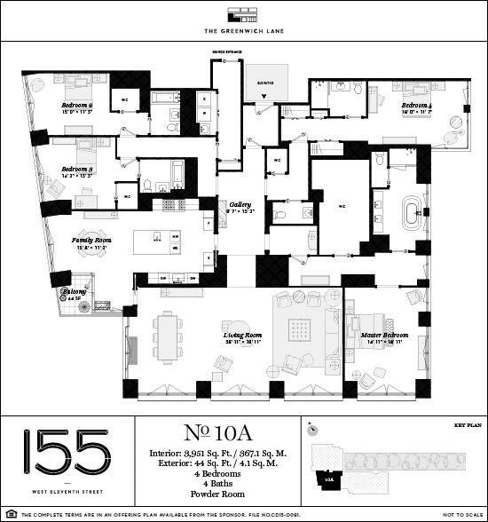 155 West 11th St 10a Condo Apartment Sale In Greenwich Village Manhattan Streeteasy Floor Plans Penthouse Apartment Floor Plan Apartment Floor Plans
