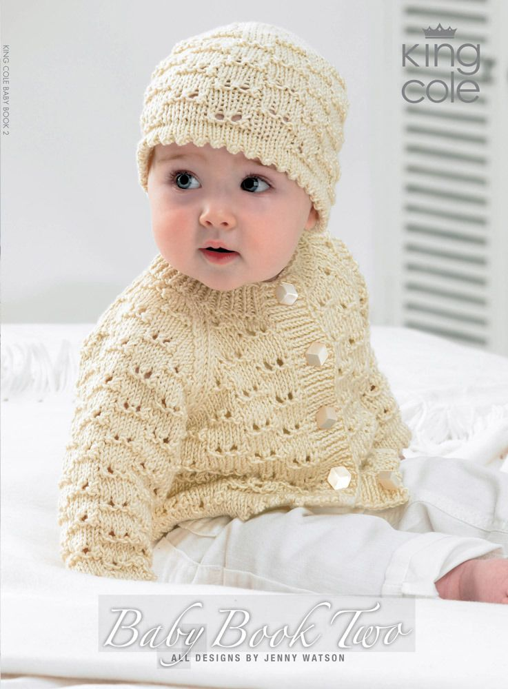 King Cole Baby Book Two Knit Patterns Babies And Knit Patterns