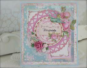 Synnøves papirverksted: Shabby Chic roses