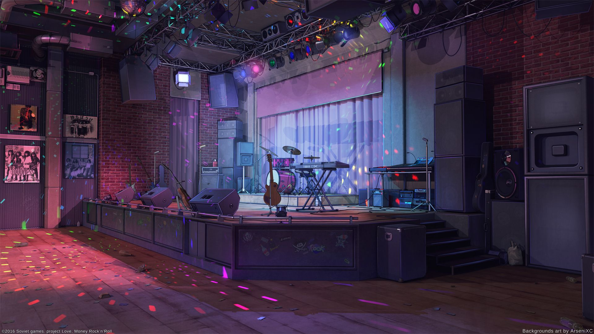 Wild Night Club By Arsenixc Background And Scenery Episode