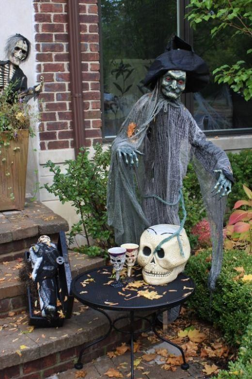 IDEAS  INSPIRATIONS Halloween Decorations, Halloween Decor - pinterest halloween yard decor