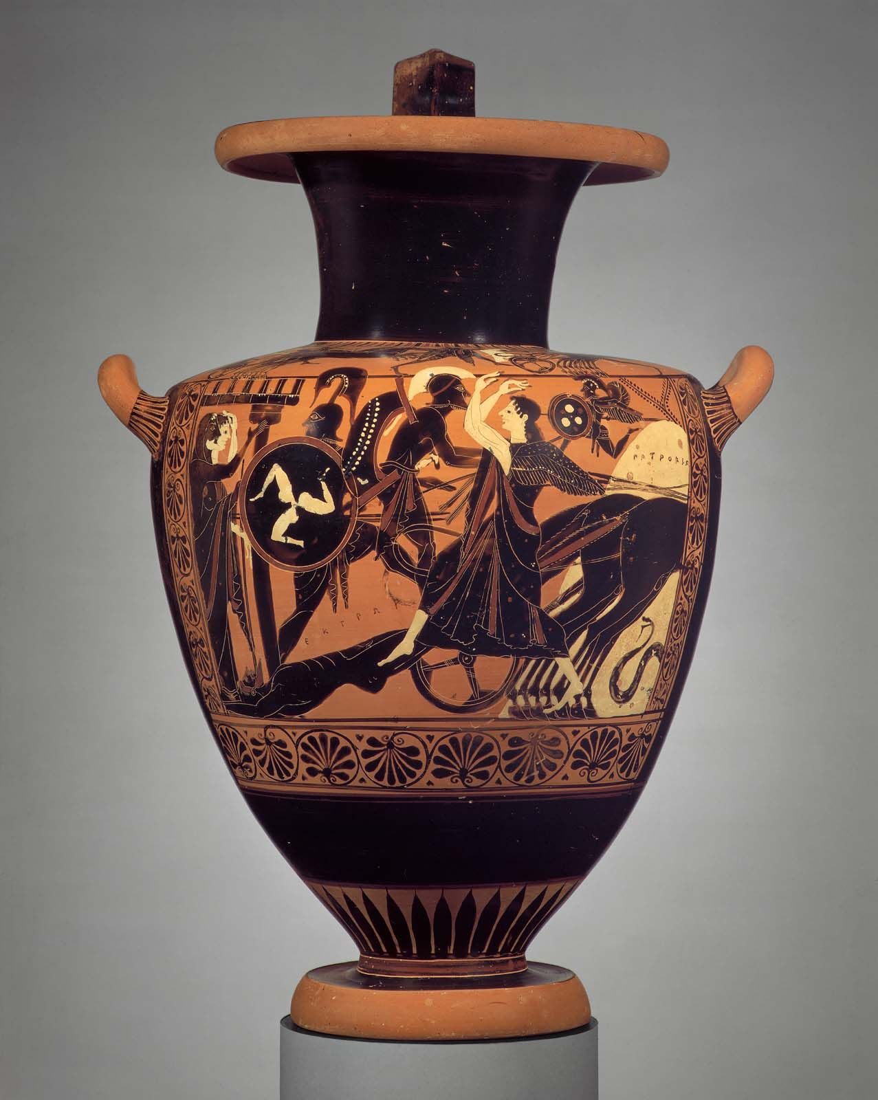 Hydria water jar with the chariot of achilles dragging the hydria water jar with the chariot of achilles dragging the corpse of hector reviewsmspy