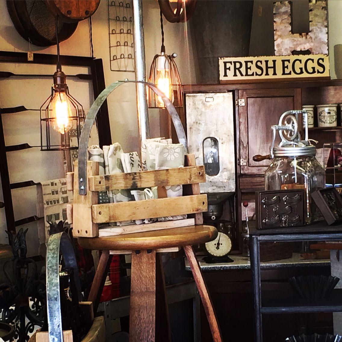 Orchard & Twine Redding Ca. Shop display farmhouse ...