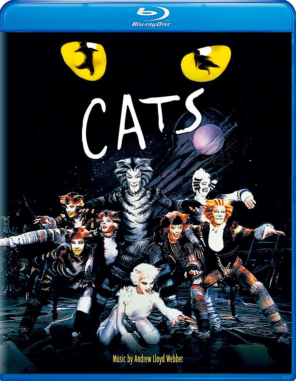 Cats 1998 Blu Ray Universal Studios Drawings Cats Musical Musicals