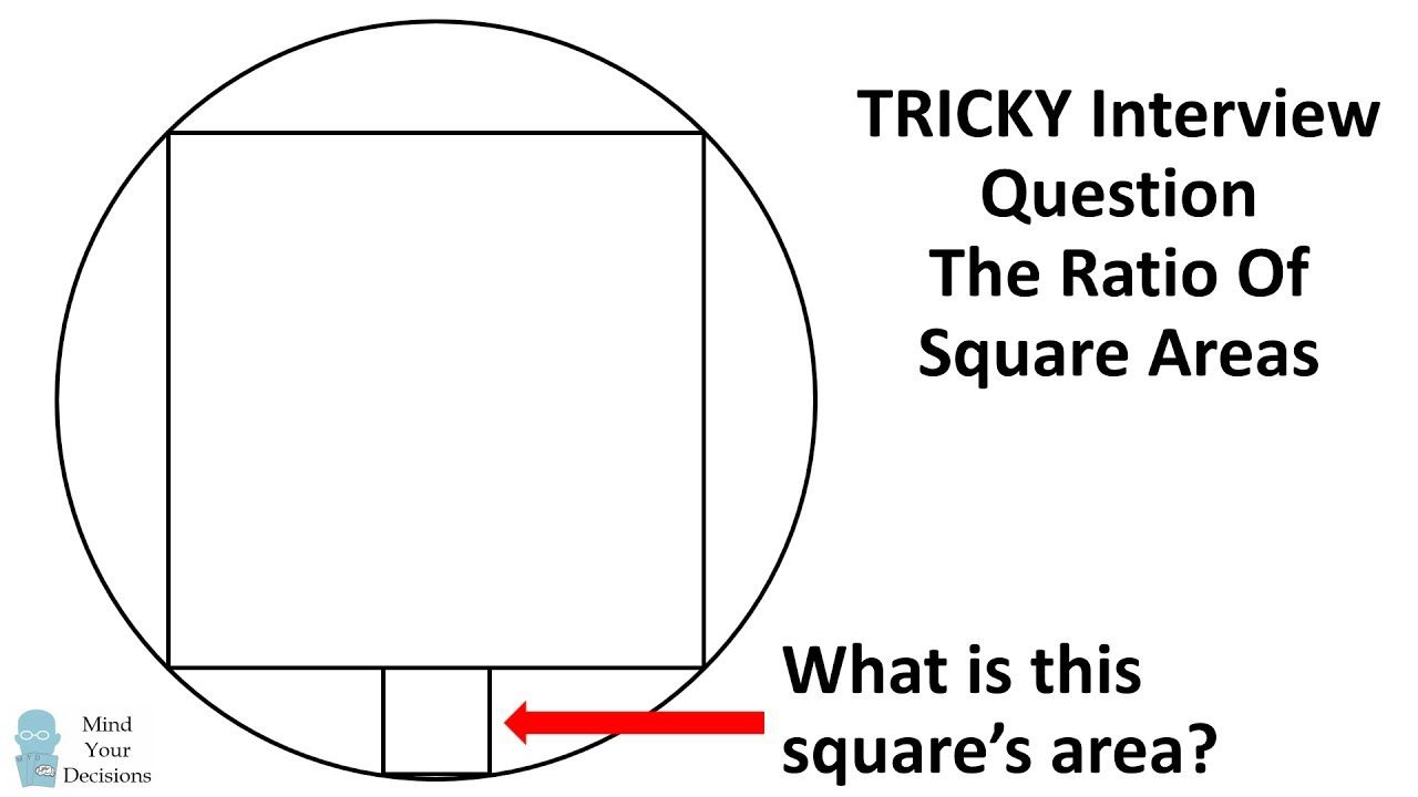 Can You Solve A Tricky Interview Question That Stumped Me? The Ratio ...