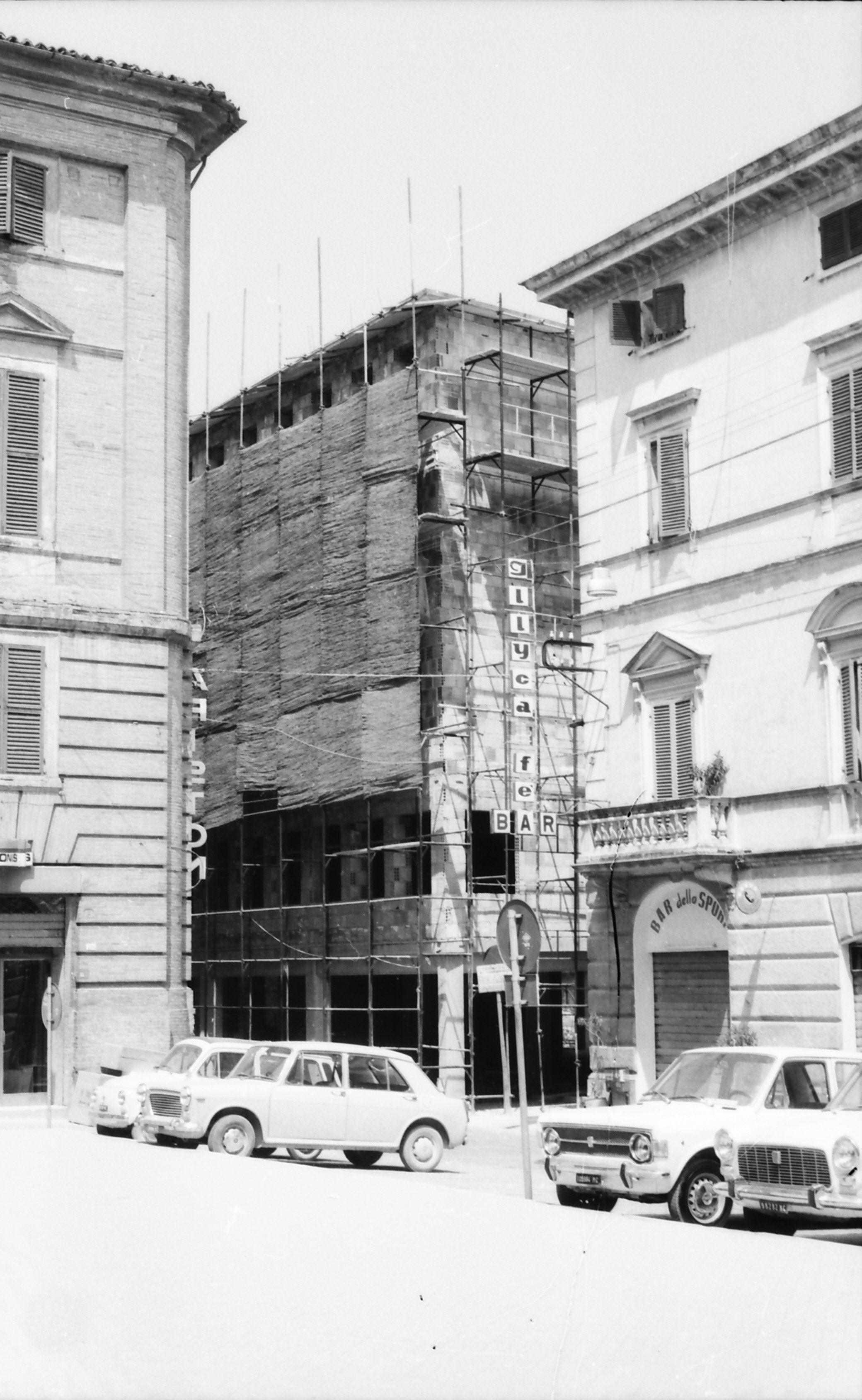 Matelica, Ex-Palazzo Croci Razzanti - Costruzione del nuovo palazzo (1975) 7/7