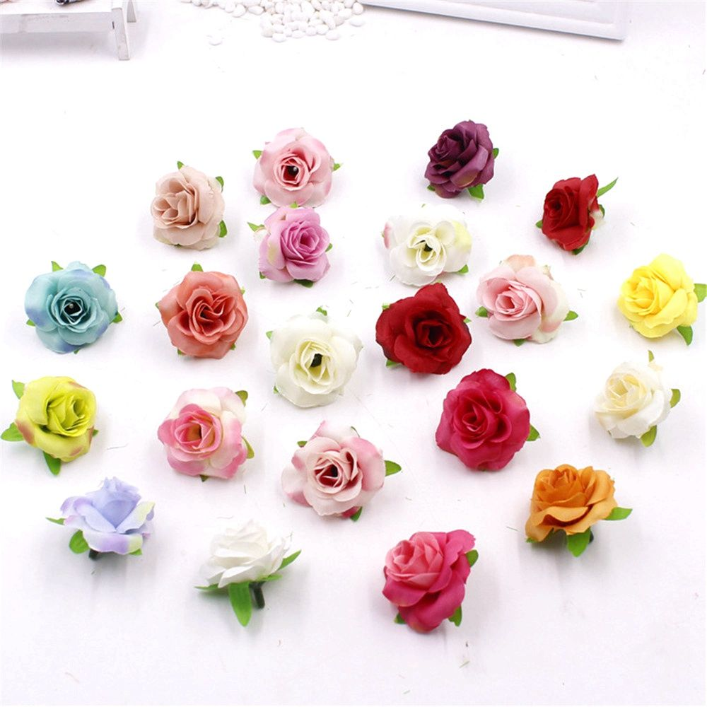 30pcs Fresh And Artificial Flowers Small Tea Bud Simulation Small