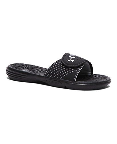 26a5bad2609e39 Under Armour Womens UA Micro G EV II Slides 11 Black     Learn more by  visiting the image link. Find this Pin and more on Women s Sport Sandals ...