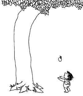 The Giving Tree 이미지 포함 아낌없이 주는 나무 나무
