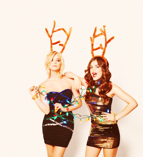 Lucy Hale & Ashley Benson - Bongo Holiday Campaign 2012 ♥♥♥