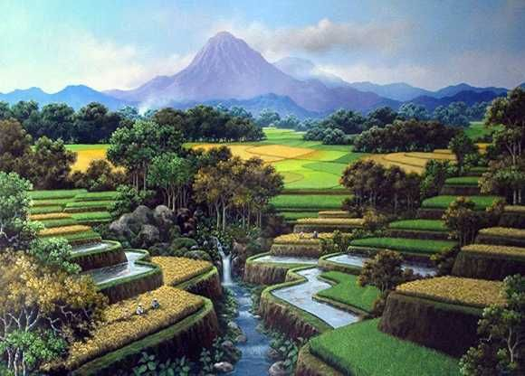 81 Gambar Pemandangan Alam Naturalisme HD