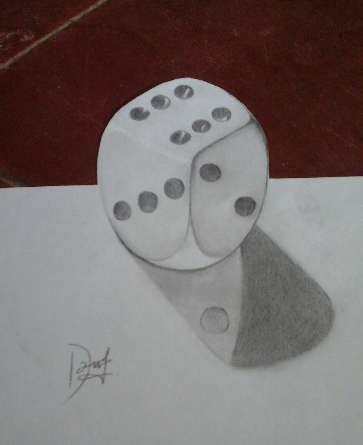 First try drawing 3D